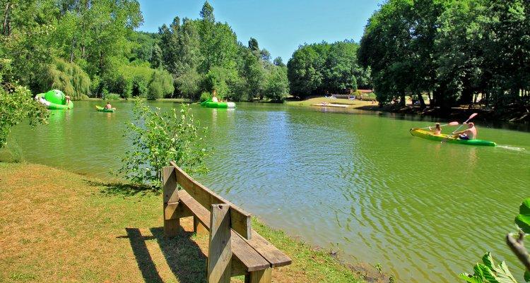 camping dordogne p che tang cano lac les valades