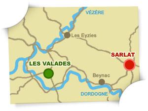carte camping Sarlat