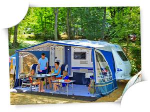 emplacement de camping Dordogne