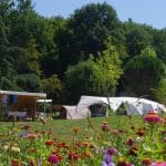 Emplacements camping luxe Dordogne