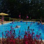 Piscine-Grande piscine extèrieure chauffée