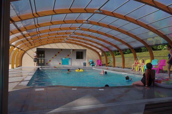 Profitez de notre piscine couverte et chauffée