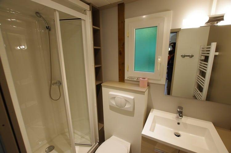 Salle de bains du chalet Horizon