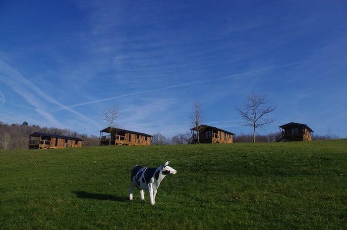 Nature et espace au camping les Valades