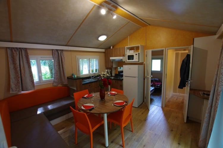 Mobil home camping Dordogne